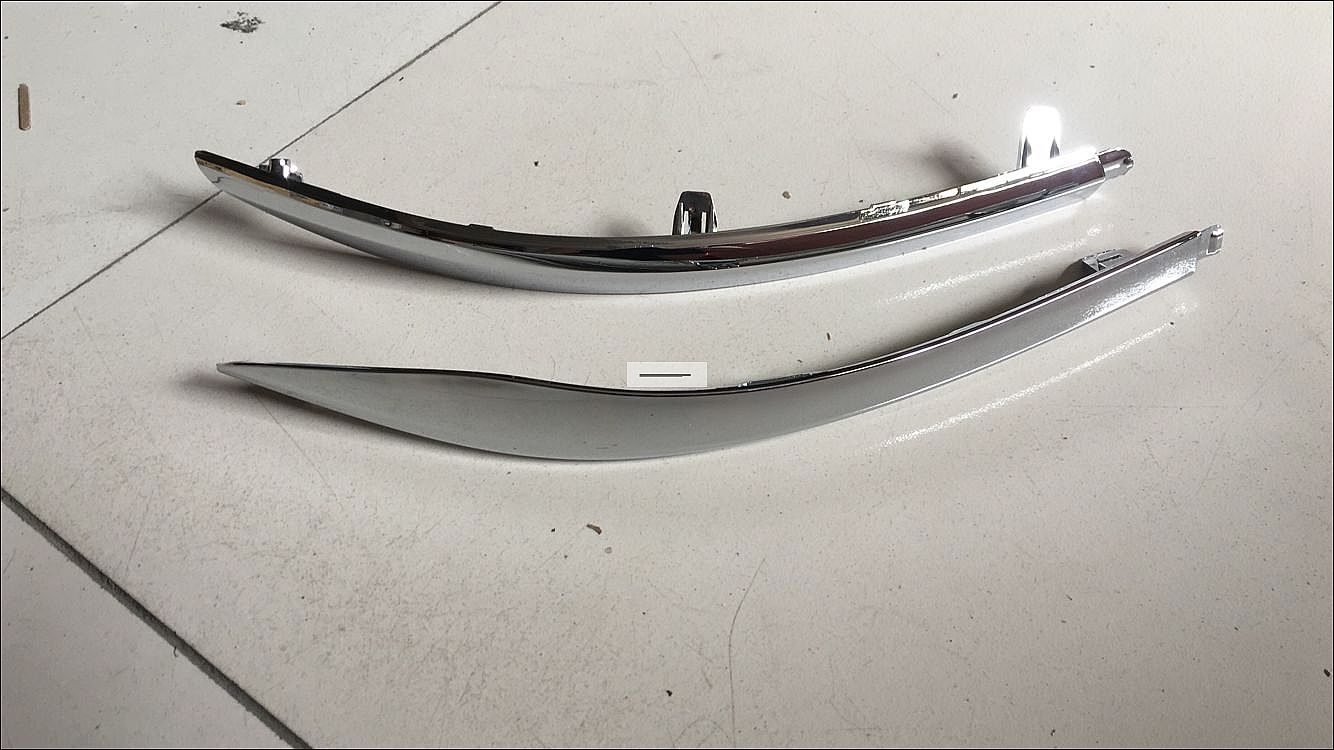 2016 rear bumper chrome